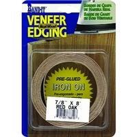 "Band-It 34830 Real Wood Veneer Iron-on Edgebanding, 3/4"" x 8' , Mahogany"