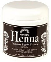 RAINBOW RESEARCH Dark Brown Henna - 4 oz.