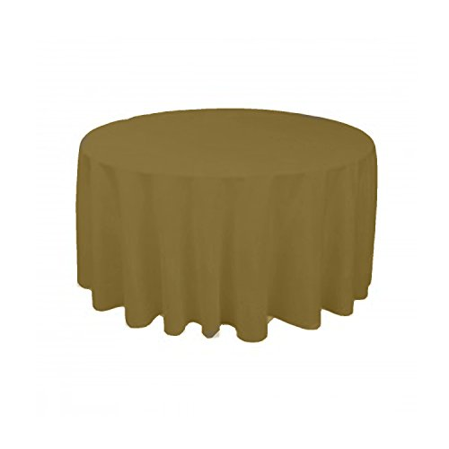Ks Linens Polyester Round Tablecloth 72