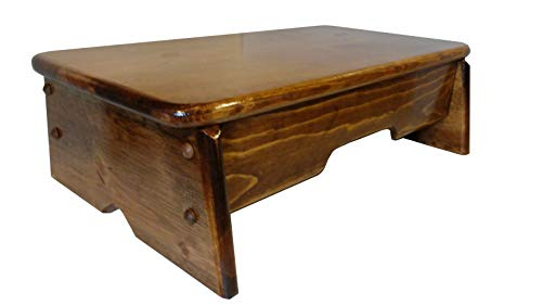 Bed Side Step Stool Provencial Stained 6