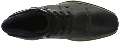 Rieker 30832, Botines para Hombre Gris (coal/schwarz/ozean / 46)