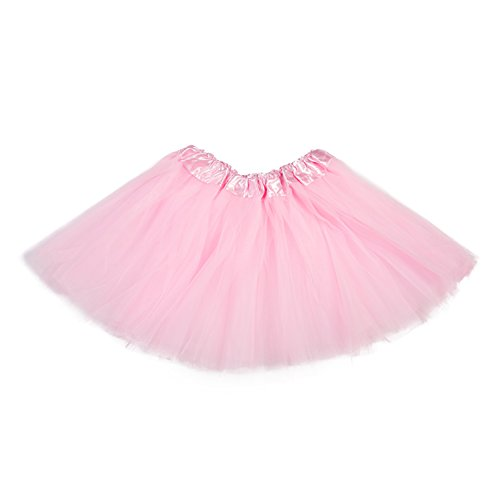 belababy Girl Skirts 3 Layers Organza Baby Tutu, 31 Colors, Pink