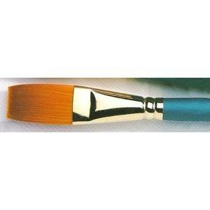 Brush Handle Regency - Size 3/4 Inch Stroker-Varnish Regency Gold Series 580 Artist Paint Brush By Winsor and Newton
