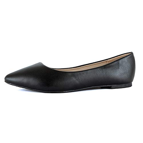 Guilty Shoes Angie-52 Black Pu, 7.5 B(M) US from Guilty Shoes