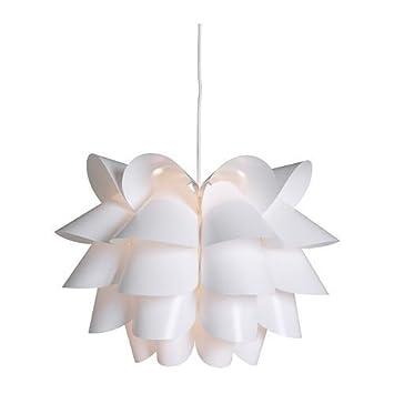 Ikea Hängelampe Knappa Weiß 46cm Amazon De Küche Haushalt