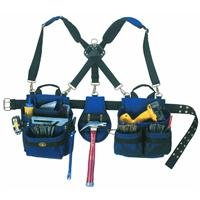 CLC Custom Leathercraft 1614 20 Pocket, Heavy Duty Framers 5 Piece Comfortlift Combo Tool Belt System