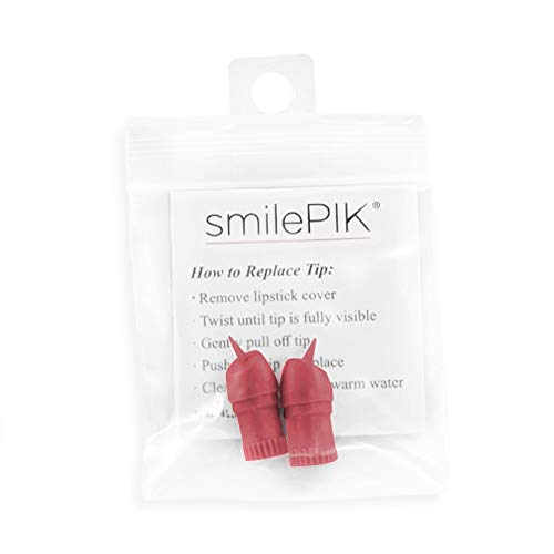 (SmilePIK Replacement Tips - The World's Most Discreet Toothpick | Reusable & Delicate Tips with Your Gums | Dental Care On the Go - Doctor Recommended Toothpick and Dental Floss | Unique &)