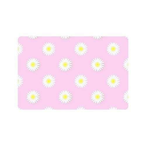 fei tong Colorful Flowers Super Absorbent pad Carpet Door ma