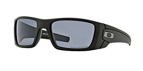 - Oakley Fuel Cell Polarized Mens Sunglasses - Matte Black/Grey 60mm
