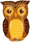 Owl party mylar balloon 18 inch (MULTI, 1) by Anagram
