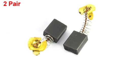 2 Pair Spring Loaded 21//32 x 17//32 x 1//4 Electric Motor Carbon Brushes