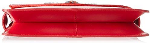 Chicca Borse 8801 Borsa A Spalla Donna 28x19x5 Cm w X H L Rosso
