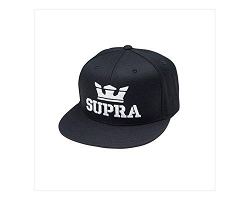 Supra Mens Above Adjustable Hat One Size Black (Skateboarding Supra)