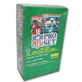 - 1990 NFL Pro Set Football Cards