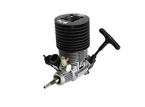 Hockus Accessories FC Power K5.9 XL Nitro 5.9cc Engine with Pull Starter Gray Head for HPI Savage XL K5.9 K4.6 Losi Ofna Kyosho FS Redcat Hobao