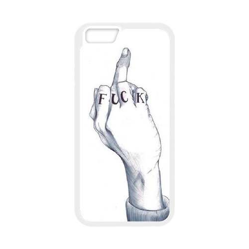 "SYYCH Phone case Of Fashion Design Hand Gesture 2 Cover Case For iPhone 6 (4.7"")"