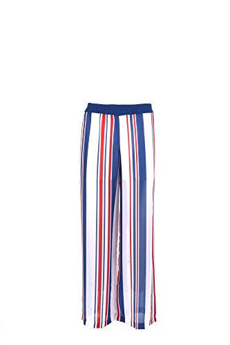 Pantalone Donna Shiki S Blu/bianco 17esk34308 Primavera Estate 2017