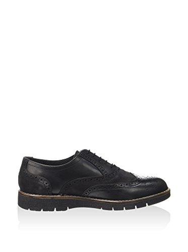 Lumberjack SM31704-001 Zapato de Vestir Hombre Negro