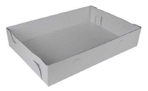 Southern Champion Tray 1192 Corrugated Greaseproof Full Sheet Cake Box Bottom, 26