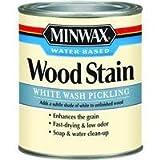 Minwax 618604444 White Wash Pickling Stain, quart
