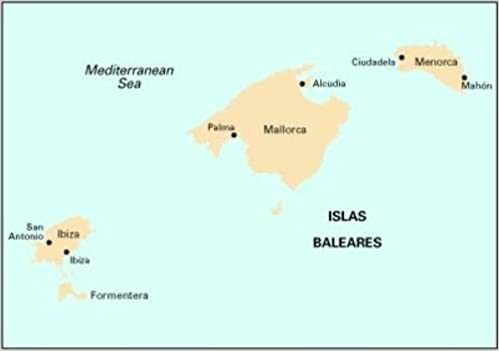 Imray Chart M3 Islas Baleares 9781846232893 Amazon Com Books