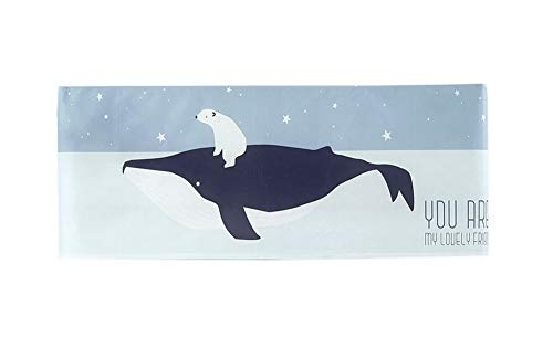 Gentle Meow Home Restaurant Dustproof Air Conditioner Cover, Whale and Bear by Gentle Meow
