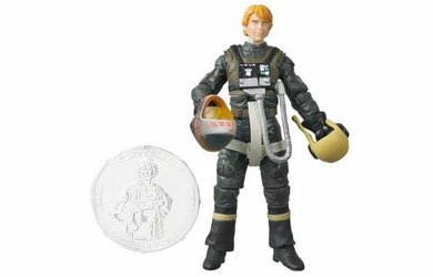 Star Wars Basic Figure A-Wing Pilot Tycho ()