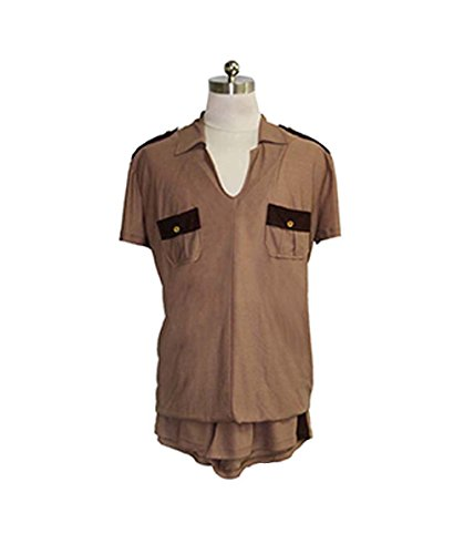 Halloween Party Online Lt. Dangle Reno 911 Costume, Brown Adult (M) HC-136
