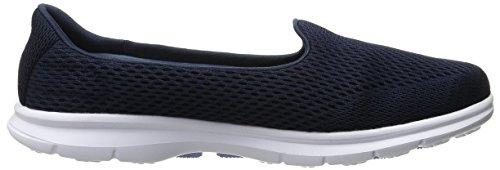 Schuh Walking Navy Schritt Go Leistung White Shift Skechers qZxS6wF8z