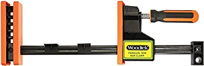 """Woodtek 170153, 4-pack , Clamps And Vises, Bar & Pipe Clamps, 36"""" Parallel Jaw Bar Clamp"""