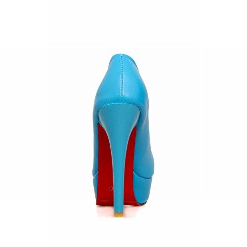 Chaussures Femmes Plateforme Bleu MissSaSa Femmes MissSaSa Bleu Plateforme Chaussures BpYPvwqw