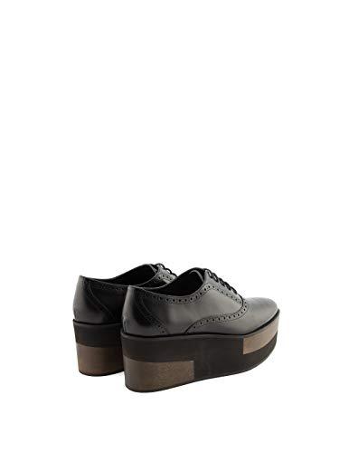 Barceló De Cuero Paloma Cordones 4wkmvibkblack Mujer Zapatos Negro zxdnS6HZwq
