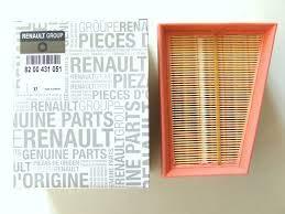 8200431051 Filtro Aire Renault motor gasolina 1.6 Recambio Original