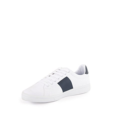 Sneaker White Canvas Perry navy B721 Fred Owxt8SUq