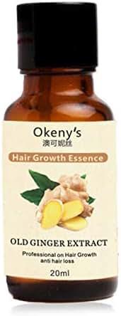 gLoaSublim Hair Growth Serum,Ginger Extract Hair Growth Essence Anti Loss Repairing Nourishing Essential Oil