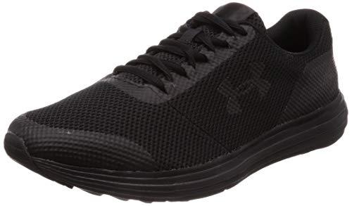 Under Armour Men's Surge-Wide, Black (003)/Black, 11 (Best Shoes For Marathon 2019)