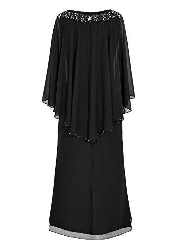 Du Mère De Soirée Robe D'honneur Bordeaux Mariée Longueur Sol Dresstells Ras Demoiselle yIfm76vYgb