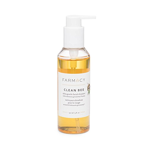 Farmacy Clean Bee Gentle Facial Cleanser – Daily Face Moisturizer w Hyaluronic Acid
