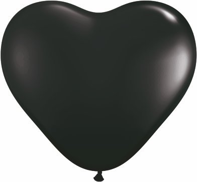 Pioneer Balloon Company Heart Shaped Latex Balloon, 6