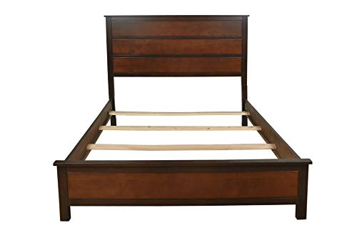 (New Classic 00-145-100 Bishop Eastern King Bed, Two Tone)