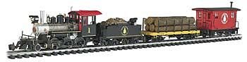 "Bachmann Industries North Woods Logger - Large ""G"" Scale Ready to Run Electric Train Set"