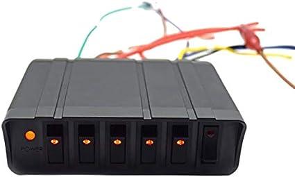 Iycorish Nuevo 6 Dígitos 3 Pines Panel de Interruptor Basculante ...