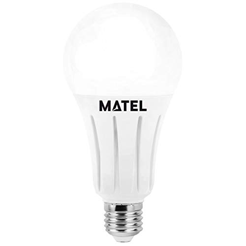 Matel Bomb. led estandar alum. fundido e27 12w. n: Amazon.es: Iluminación