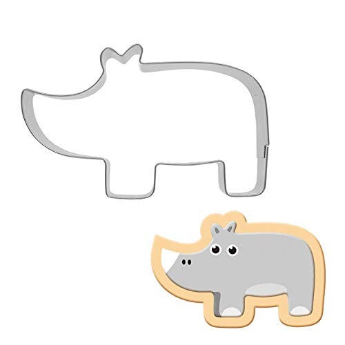 rhinoceros cookie cutter - 9