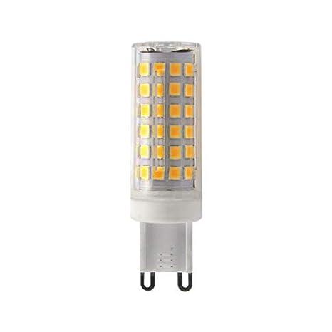 Bombilla LED G9 10 W 220 V equivalent 75 W blanco frío (6400 ...