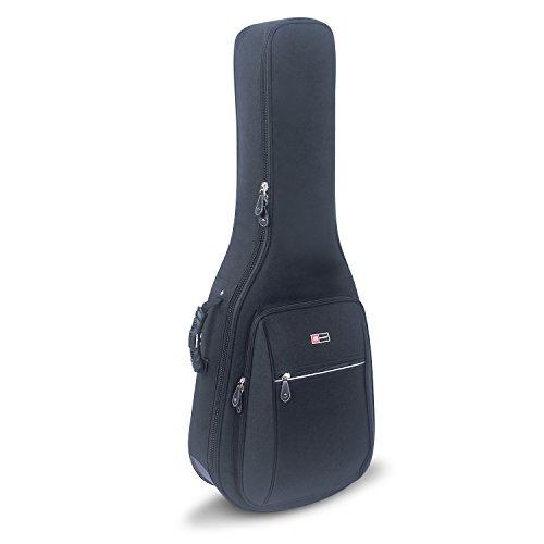 - Crossrock CRDG105DBK Case Deluxe Acoustic/ Dreadnought Guitar Gig Bag, Black