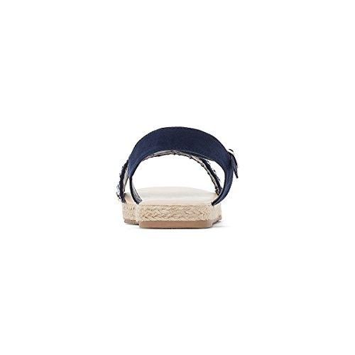 La Redoute Collections Mdchen Keilsandaletten mit Perlen 2635 Gre 31 Blau