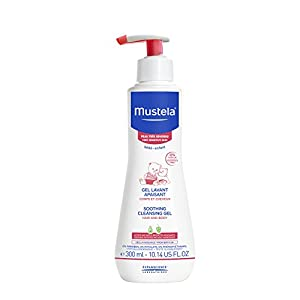 Mustela Soothing Cleansing Gel for Very Sensitive Skin, 10.14 oz.