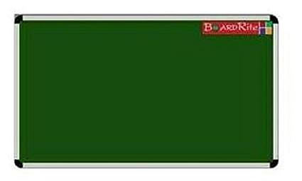 BoardRite Green Chalk Board Feet X Feet Amazonin Office Products - Pool table chalk board