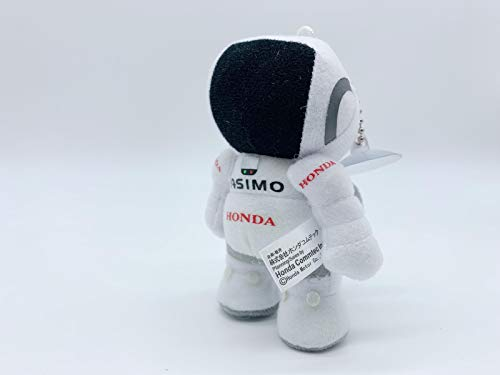 Car Accessory Warehouse JDM Japan ASIMO White Doll Humanoid Robot with Honda Logo Emblem Plush Decoration for Rear View Mirror Toy Interior Decor Type-R Honda Acura JDM Japan Aspec Exclusive Product